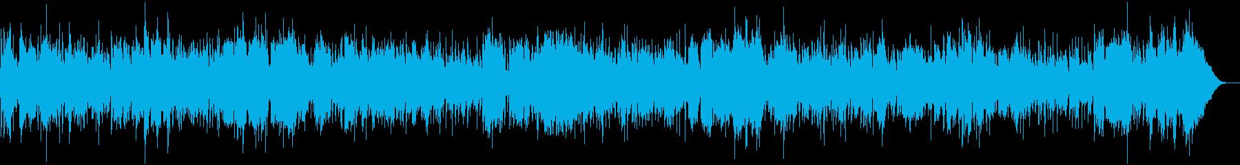 トロピカルで夏らしいウクレレハワイアンの再生済みの波形