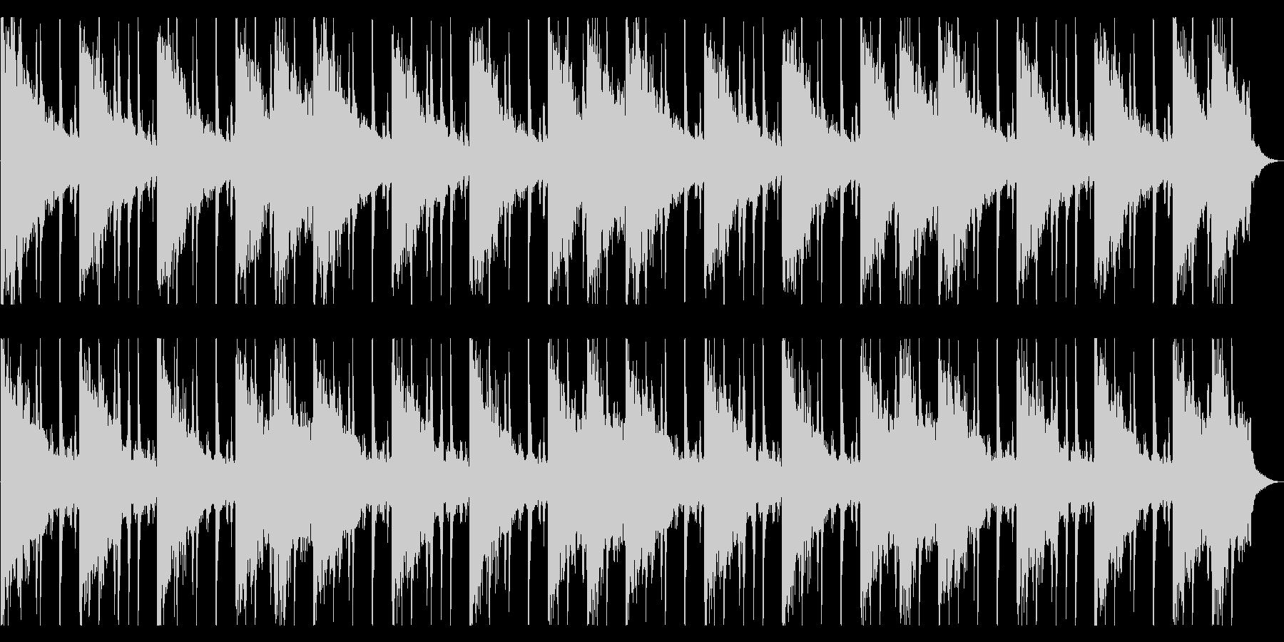 捜索するようなR&B_No616_4の未再生の波形