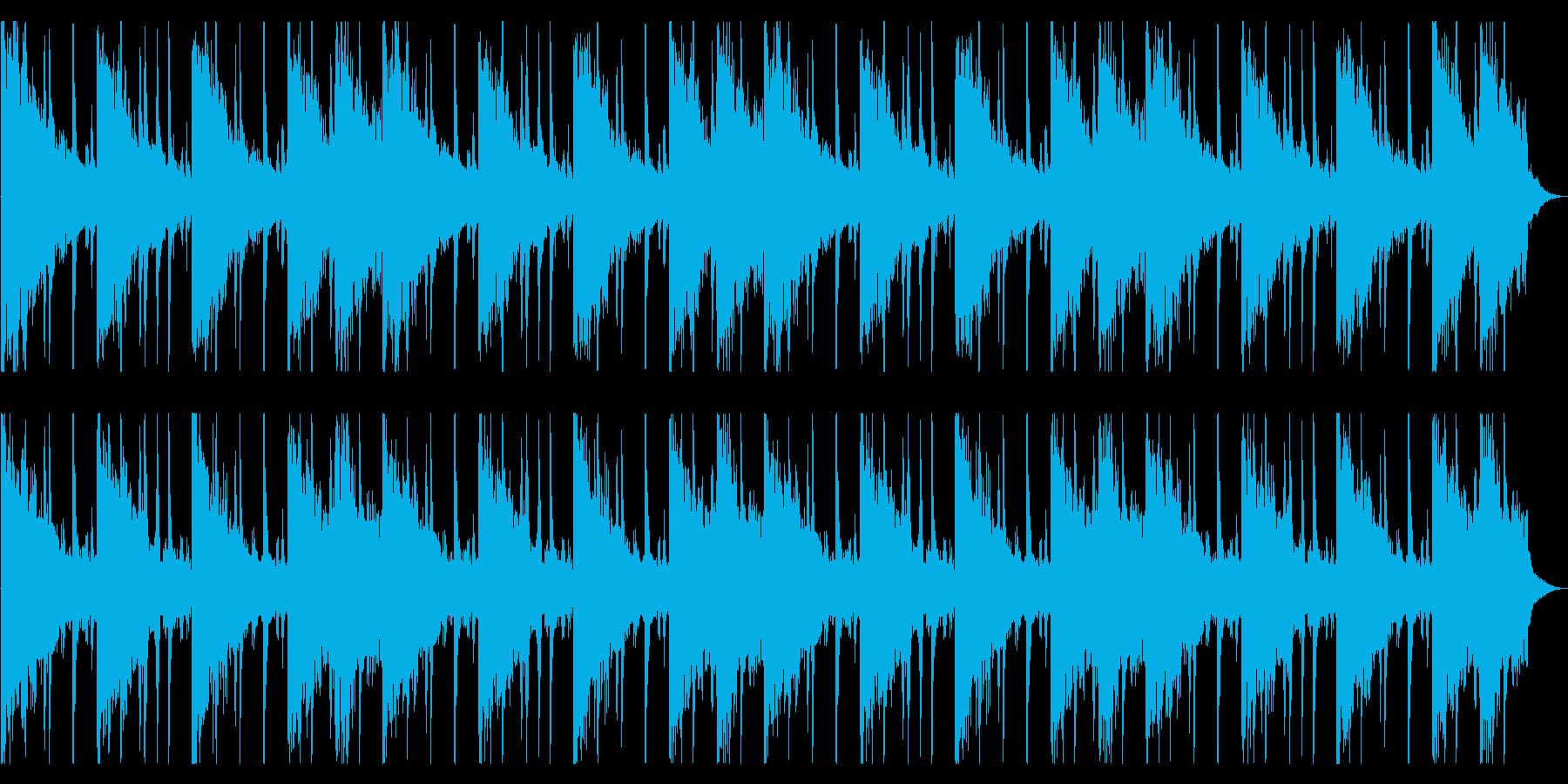 捜索するようなR&B_No616_4の再生済みの波形