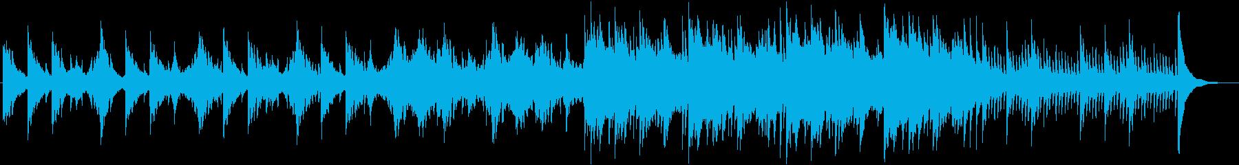 ピアノメインの幻想的な和風バラードの再生済みの波形