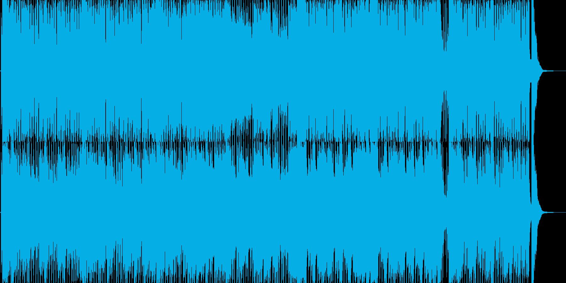 哀愁・秋をイメージしたピアノソロ曲の再生済みの波形