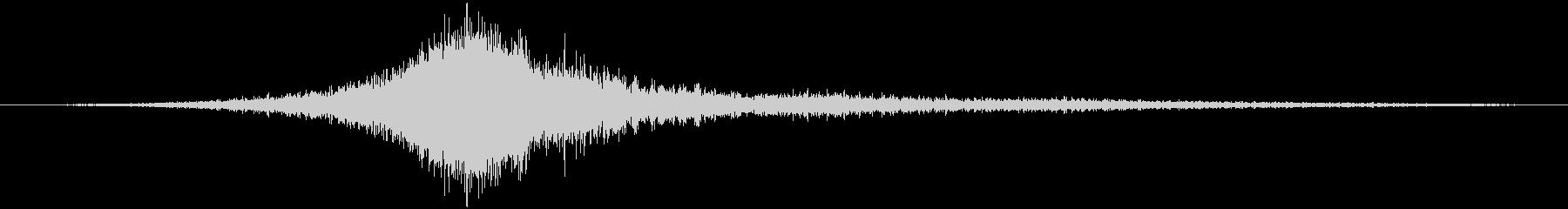 エアバスA320旅客機:内線:オー...の未再生の波形