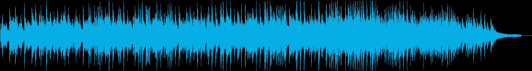 冬のしっとりしたピアノ曲 終わり普通版の再生済みの波形