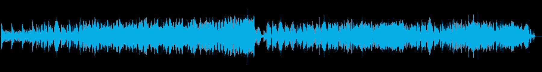 ジブリの楽曲のようなピアノソロの再生済みの波形