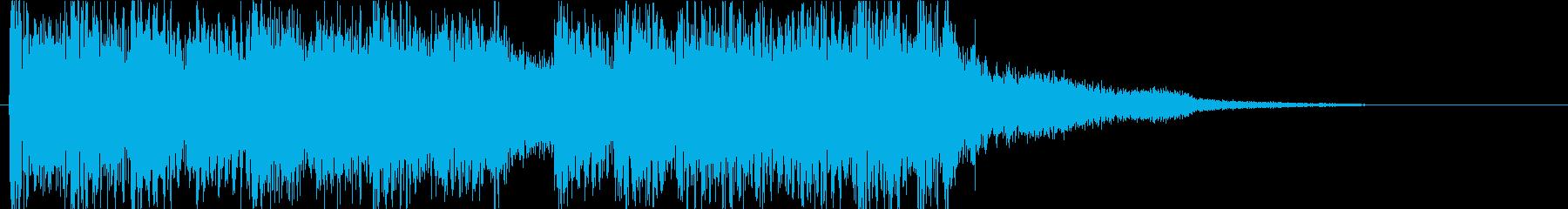 軽さがありつつも耳にしっかり残るフレーズの再生済みの波形