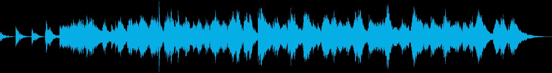 ヒーリング、リラックス向けアンビエント の再生済みの波形