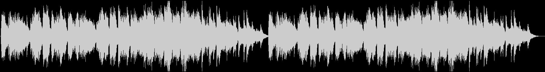 造語&チェレスタの切ない小曲の未再生の波形