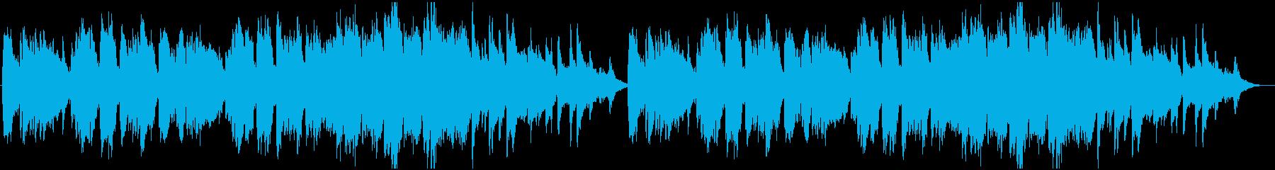造語&チェレスタの切ない小曲の再生済みの波形