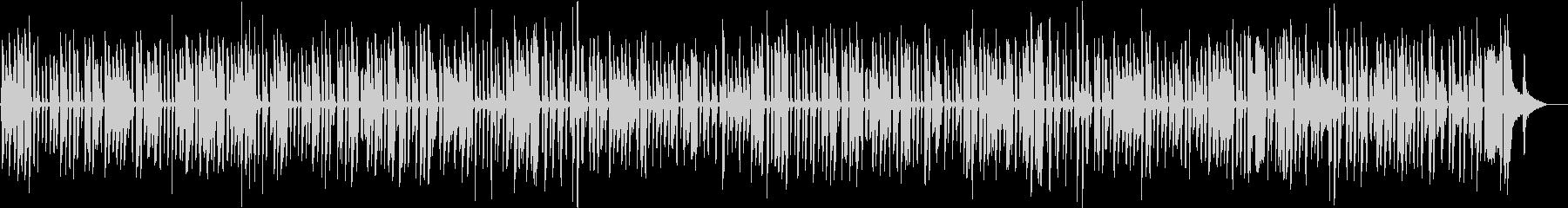 ディズニーで流れる陽気なソロジャズピアノの未再生の波形