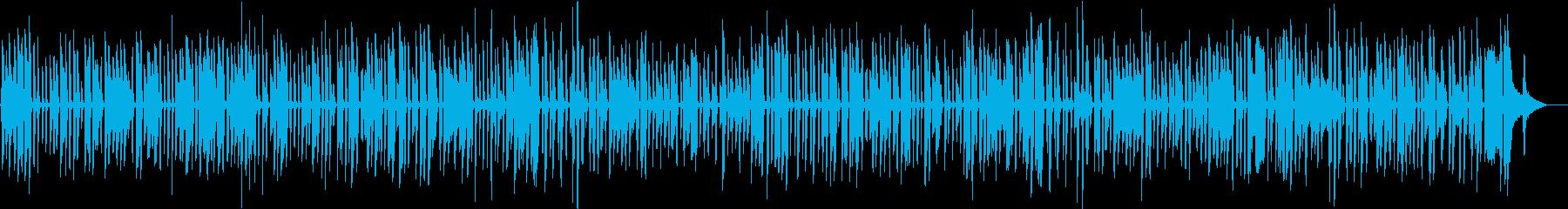 ディズニーで流れる陽気なソロジャズピアノの再生済みの波形