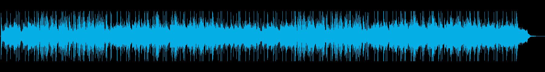 ポールモーリアの恋は水色風フレンチポップの再生済みの波形