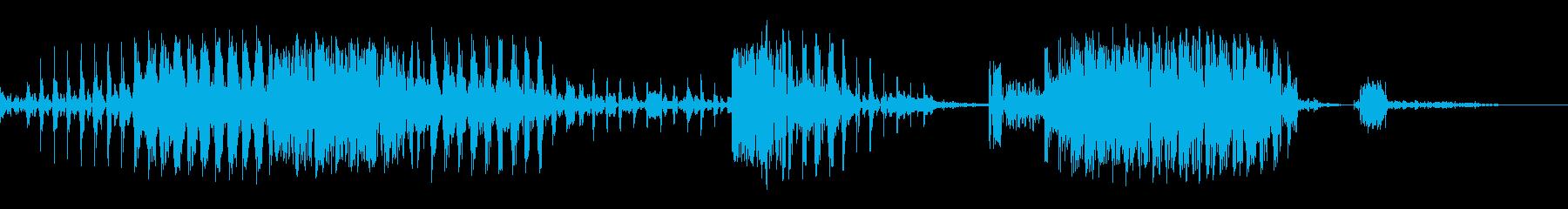 ロボット「Missionomplete」の再生済みの波形