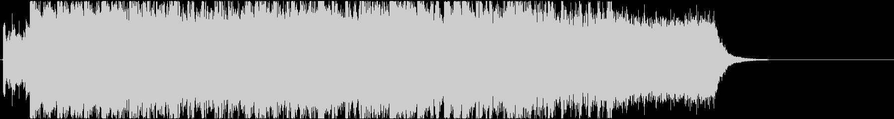 ニュースOP3 感動・幻想的・番組の未再生の波形