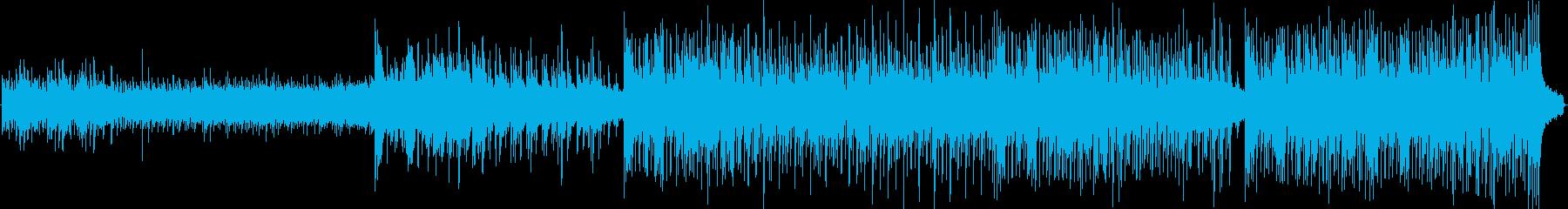 美しい弦、ピアノ、アコースティック...の再生済みの波形