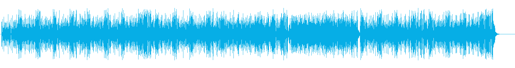 クール&ジャジーなアジッド風サウンドの再生済みの波形