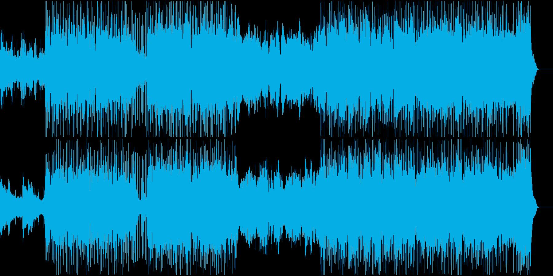 太古の遺跡を彷彿とさせるBGMの再生済みの波形
