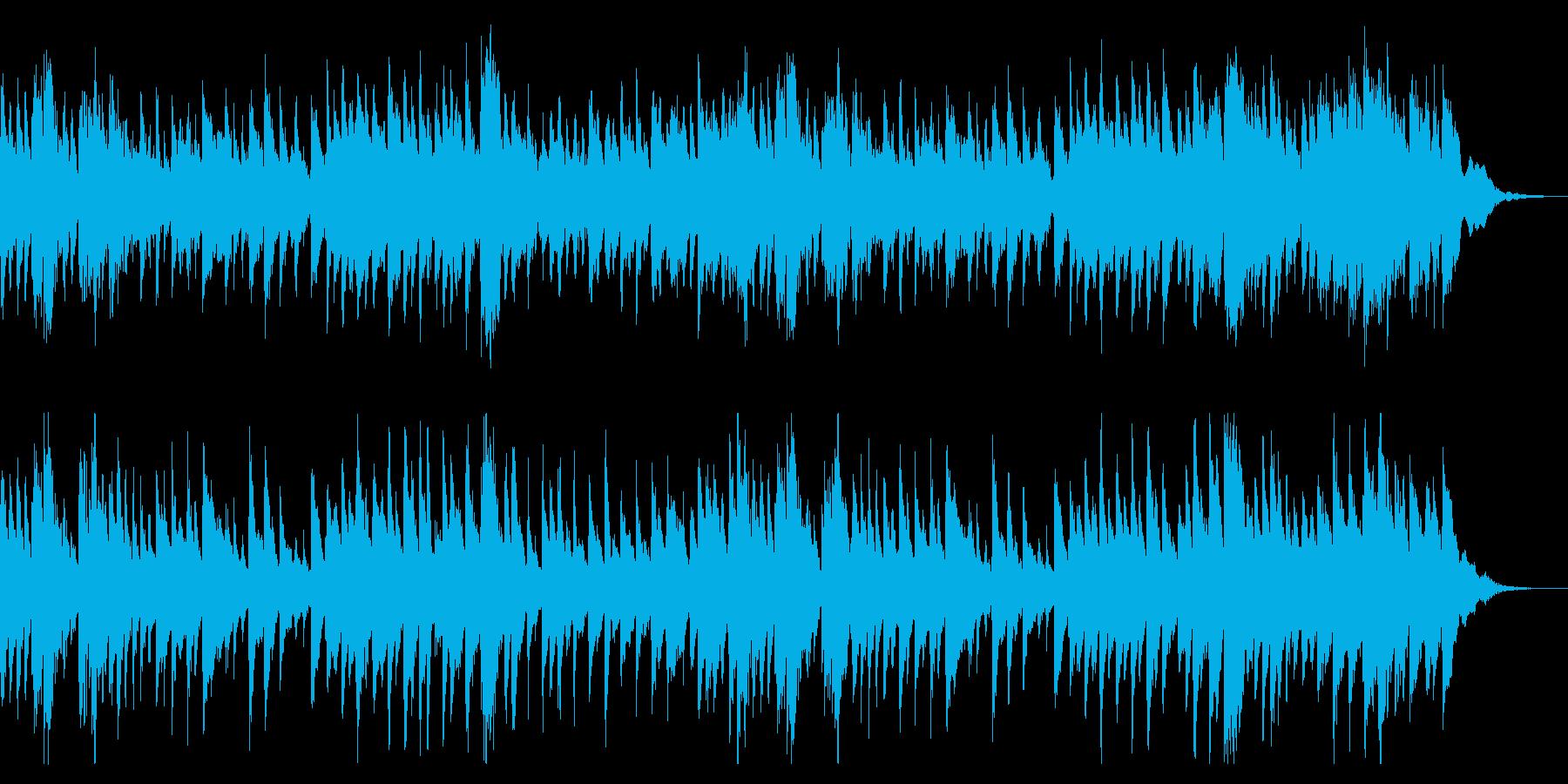 眠たげな雰囲気のアリアの再生済みの波形