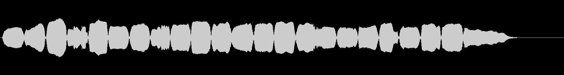 バイオリン:上下のスケール、漫画コ...の未再生の波形