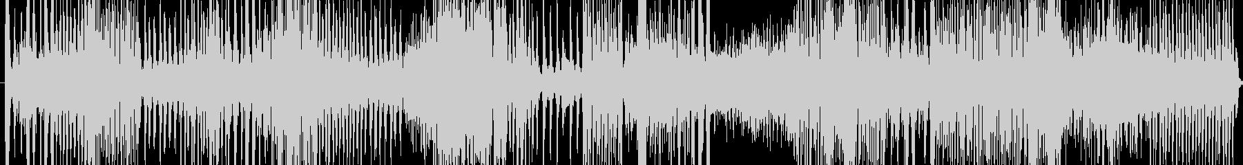 壊れた機械に囲まれた音の未再生の波形