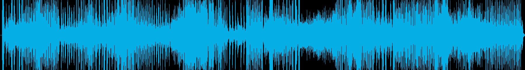 壊れた機械に囲まれた音の再生済みの波形