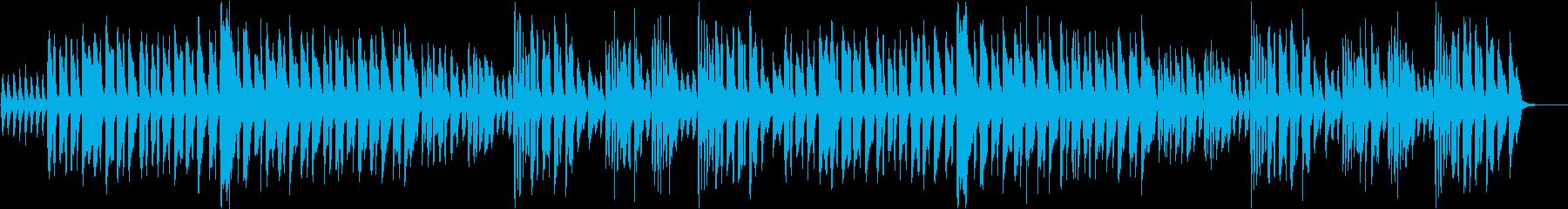 異世界の村をイメージさせる民族音楽の再生済みの波形