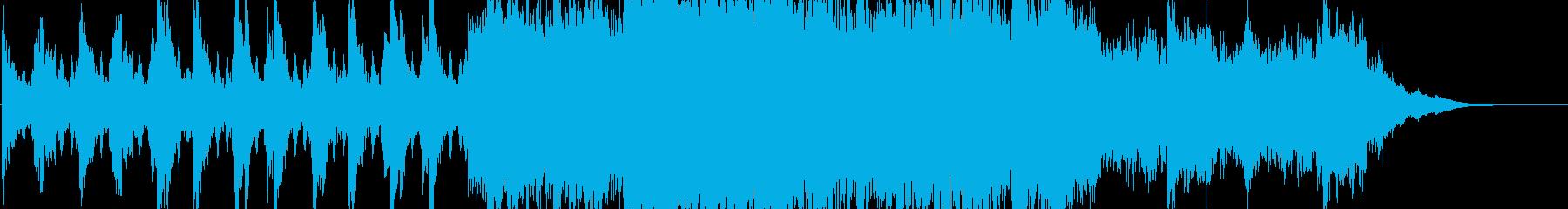 壮大で迫力のあるエピック系オーケストラの再生済みの波形