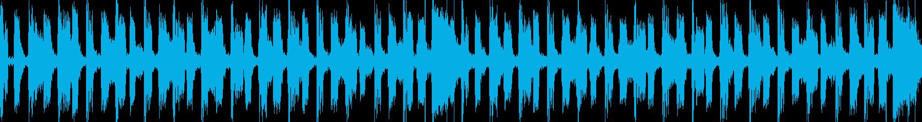 レトロでコミカルなシンセポップスの再生済みの波形