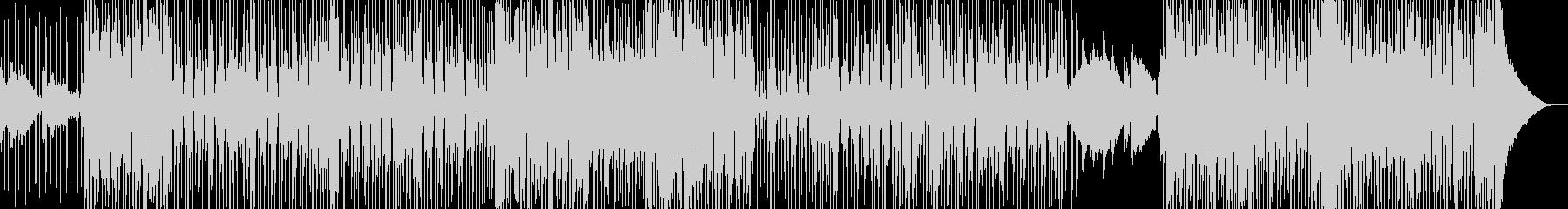 オシャレ切ない・変則的R&B・シンセ無しの未再生の波形