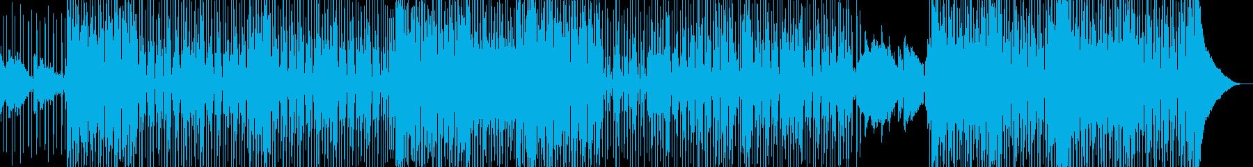 オシャレ切ない・変則的R&B・シンセ無しの再生済みの波形