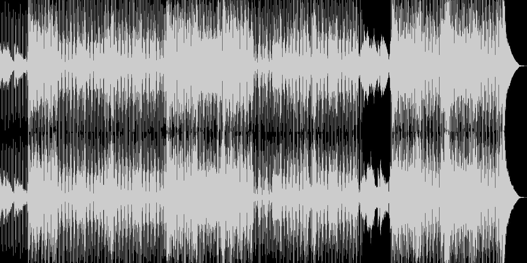 オシャレ切ないR&B シンセ無B2の未再生の波形