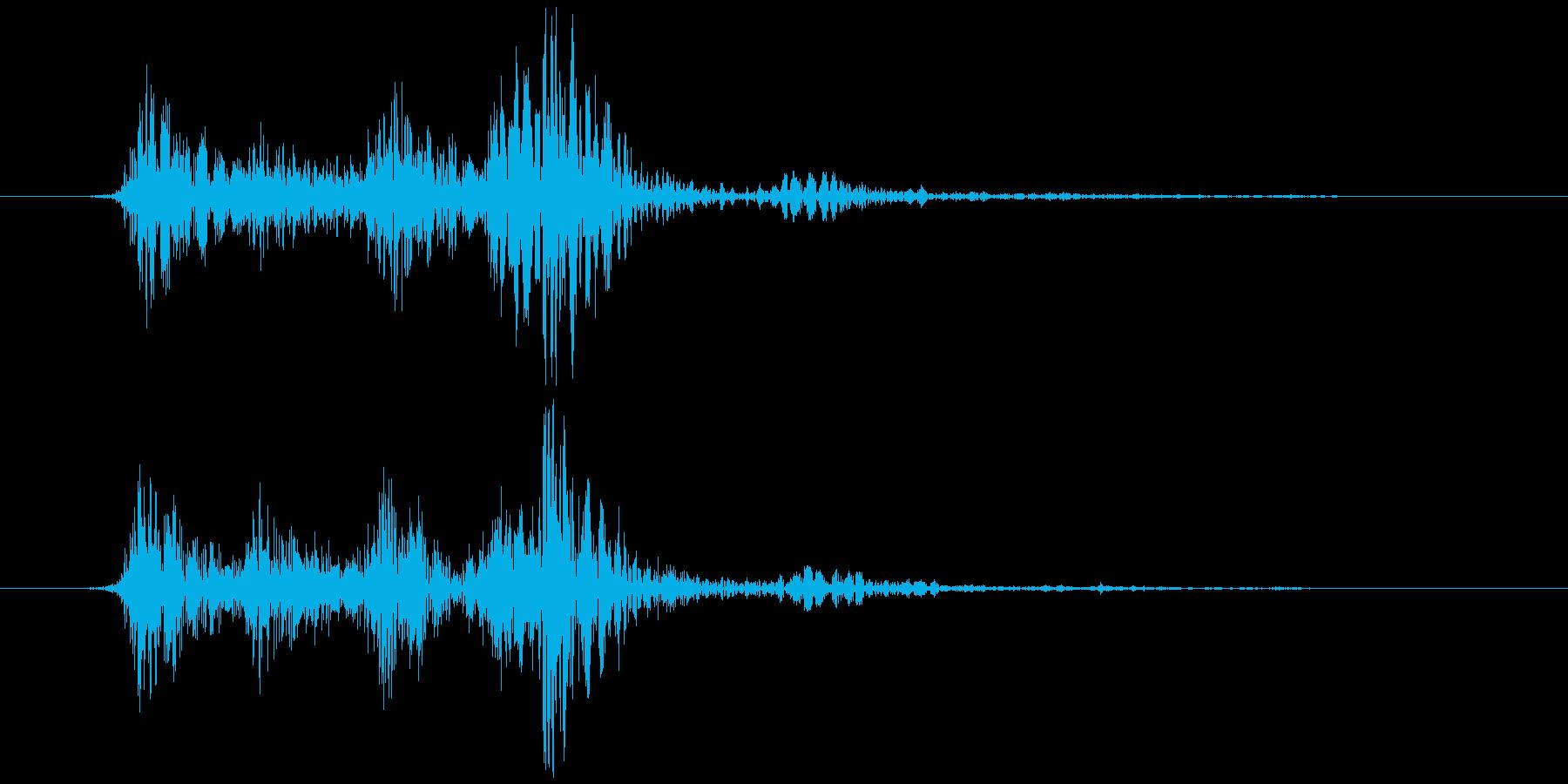 ブロック (置く、持つ等) カラッ+コッの再生済みの波形