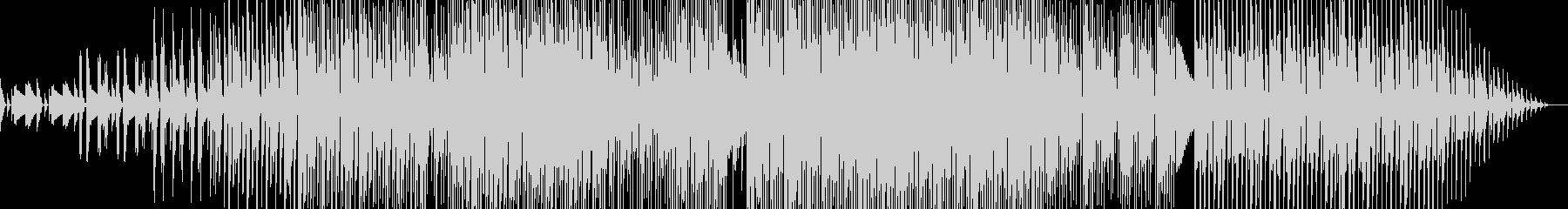 ラウンジ感のあるBGMの未再生の波形