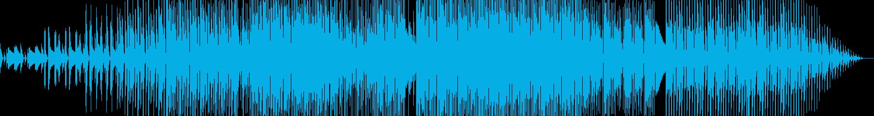 ラウンジ感のあるBGMの再生済みの波形