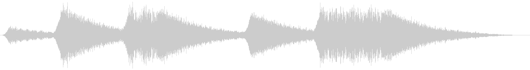 汎用サイレン 連続の未再生の波形