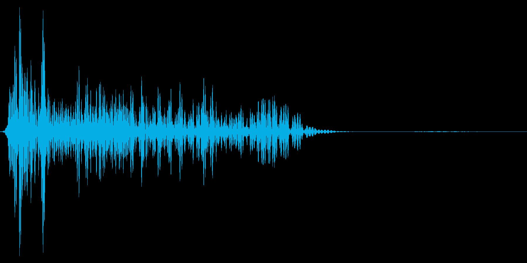 ゲーム掛け声ゾンビ1うめき1の再生済みの波形