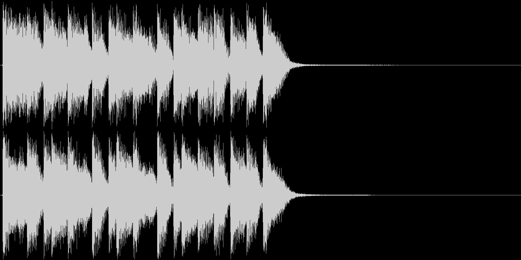 アイキャッチ・ピアノ・ジャズロックの未再生の波形