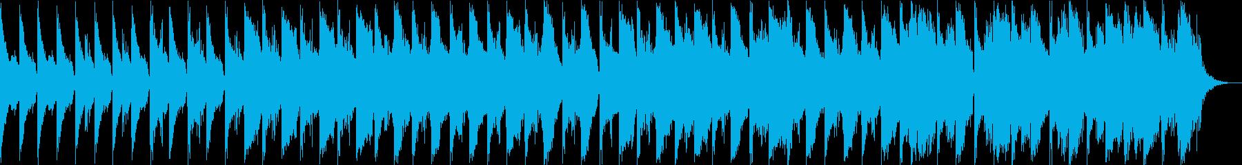 夜の埠頭サスペンスの再生済みの波形