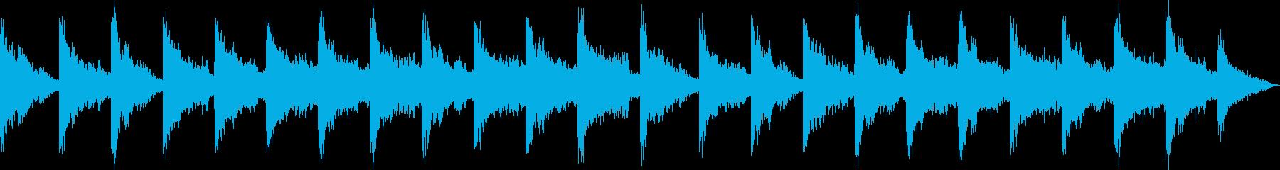 水をイメージしたアンビエントミュージッ…の再生済みの波形