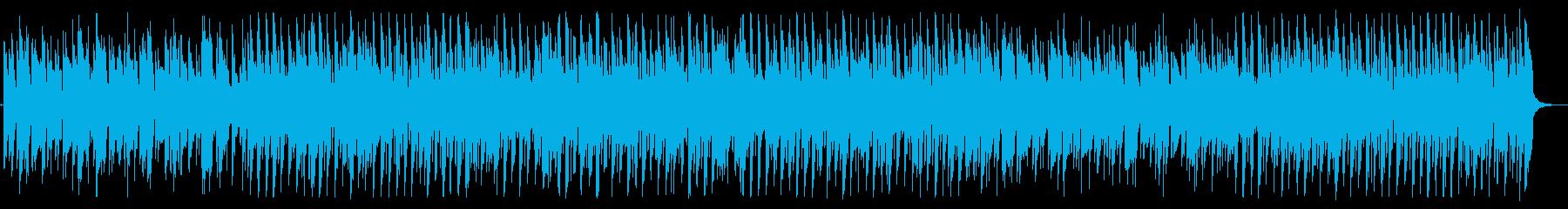軽快なバウンシーポップの再生済みの波形