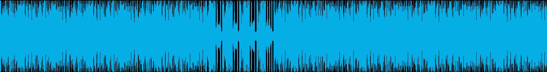 民族楽器ビートの新旧融合の再生済みの波形
