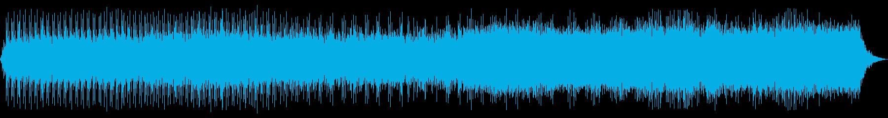 ダークかつミニマルなアシッドテクノの再生済みの波形