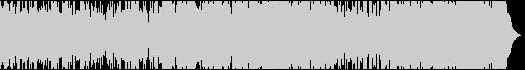 少し切なげなカントリーロックバラードの未再生の波形