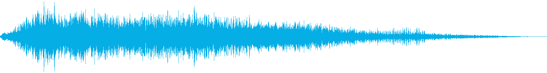 クリーチャーの悲鳴ギャアアアァの再生済みの波形