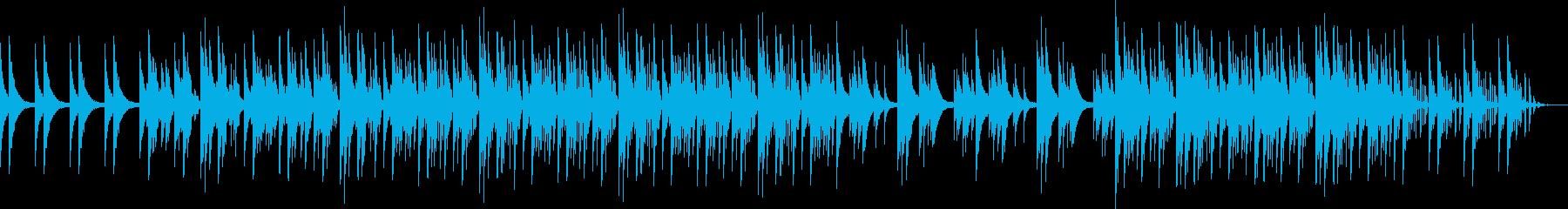 スローノービートロングバージョンの再生済みの波形