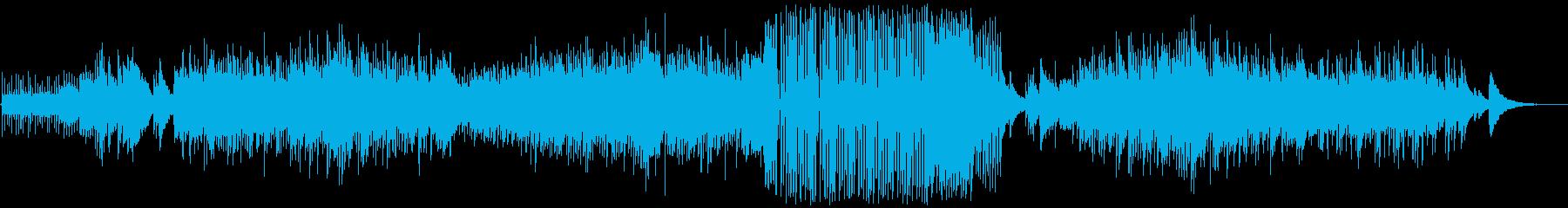 癒されるソロギターによるバラードの再生済みの波形