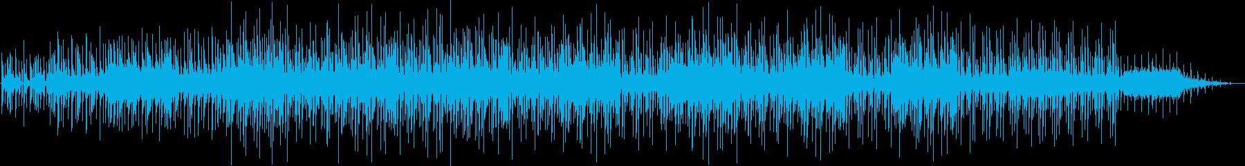 電子的なムーディーなインストゥルメ...の再生済みの波形
