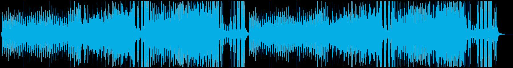 ハロウィーン4つ打ちダンス風オーケストラの再生済みの波形