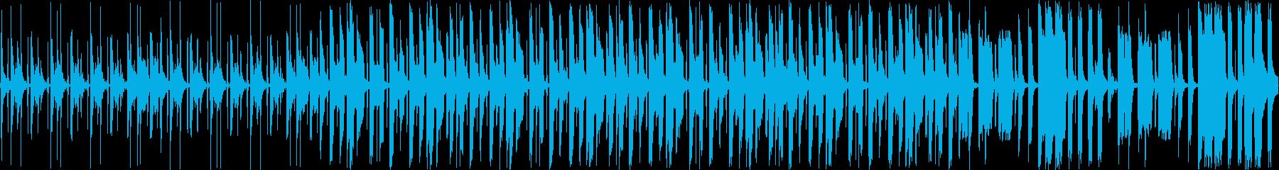 【ループ】おもちゃの音楽会、陽気なBGMの再生済みの波形
