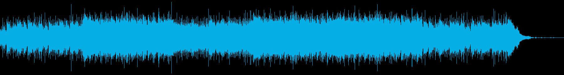 企業VP・ほのぼのアコースティックギターの再生済みの波形