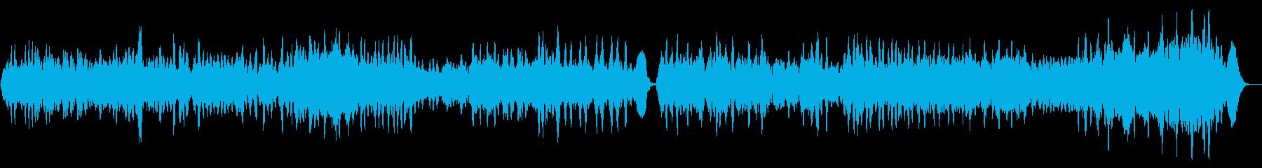 バッハ無伴奏チェロ組曲「プレリュード」の再生済みの波形